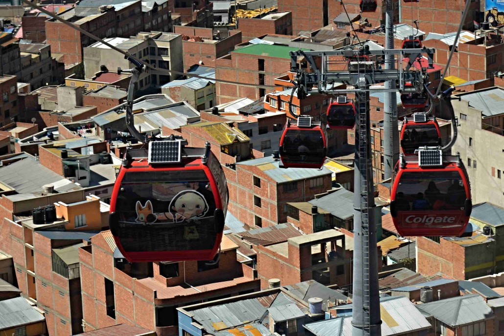 Bolívie     12. – 30. července 2015