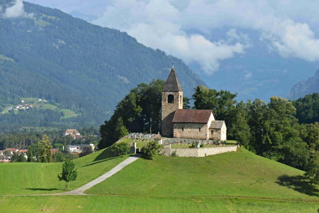 Lichtenštejnsko, Švýcarsko, Itálie   4. – 7. července 2016